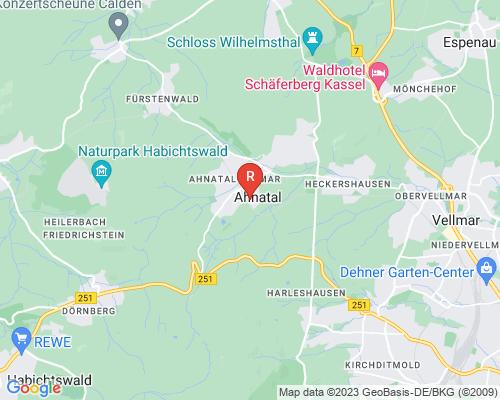 Google Karte von Rohrreinigung Ahnatal