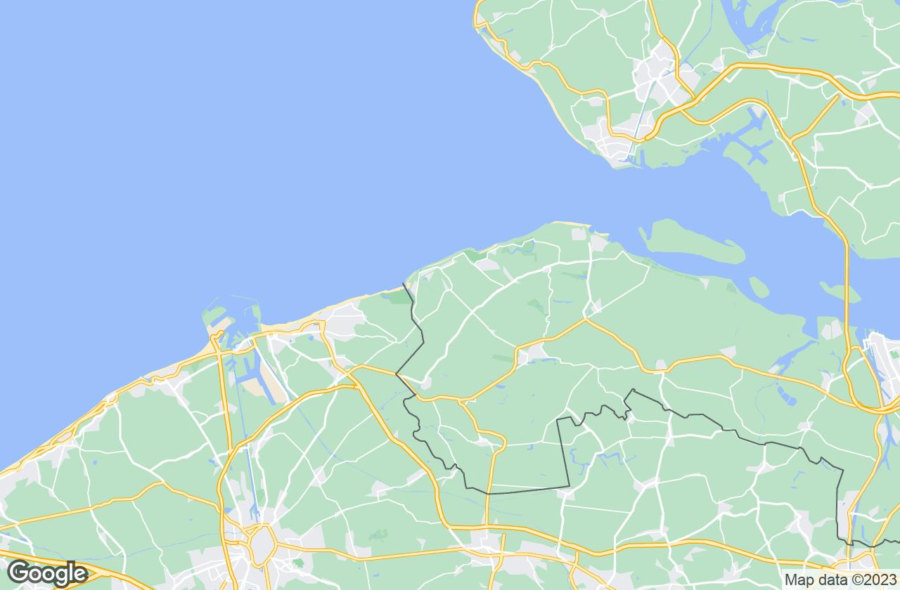 Google Map of كادزاند باد