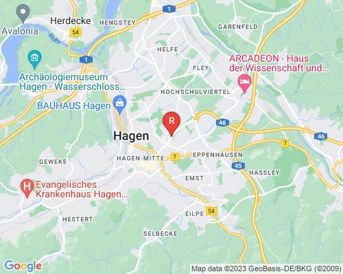 Google Karte von Rohrreinigung Hagen
