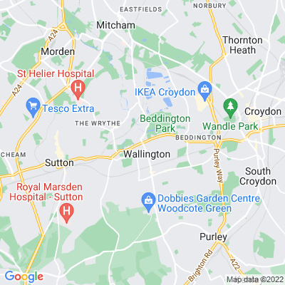 Wallington Green Location