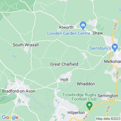 Great Chalfield Manor Location