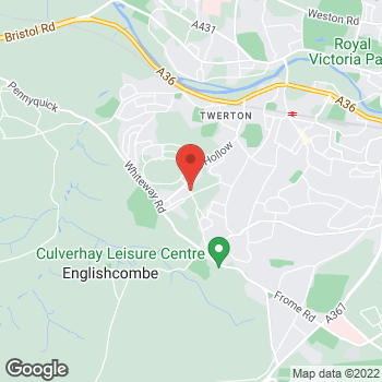 Map of Bargain Booze Mount Road at 104 Mount Road, Bath, Wiltshire BA2 1LN