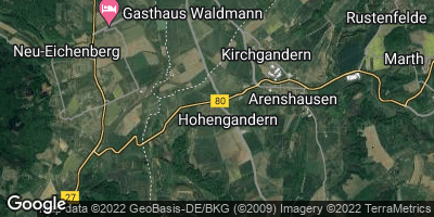 Google Map of Hohengandern
