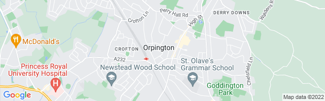 Map Of Orpington