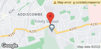 Map of Kanes Quality Florist at 155 Shirley Road, Croydon, Surrey CR0 8SS