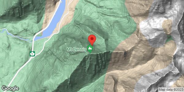 Avalanche Control on Mt Bosworth, Mt Stephen, Mt Field and Mt Dennis - Saturday, April 17, 2021