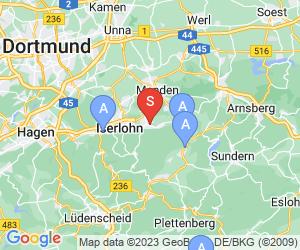 Karte für Heinrichshöhle