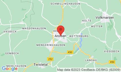 Arbeitsort: Bad Arolsen, Volkmarsen