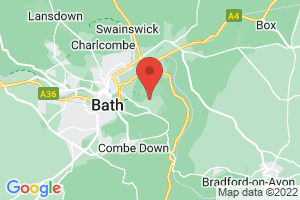 University of Bath Library on the map