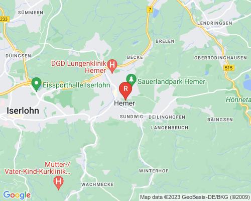 Google Karte von Rohrreinigung Hemer