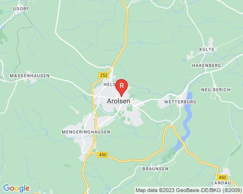Google Karte von Rohrreinigung Bad Arolsen