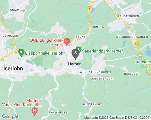 Google Karte von Schlüsseldienst Hemer