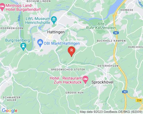 Google Karte von Rohrreinigung Hattingen