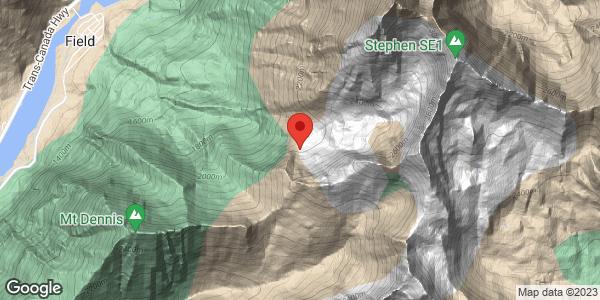 Mount Stephen Avalanche
