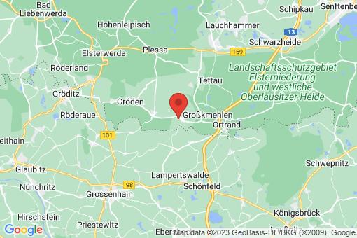 Karte Großthiemig