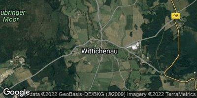 Google Map of Wittichenau