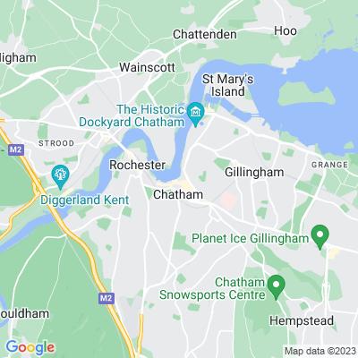 Riverside Gardens, Chatham Location