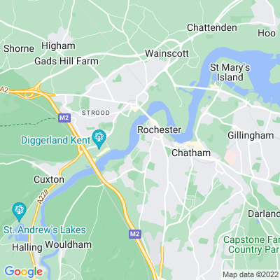 Churchfields Location