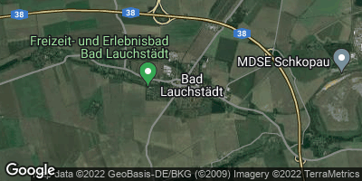 Google Map of Bad Lauchstädt