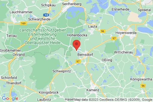 Karte Wiednitz