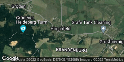 Google Map of Hirschfeld