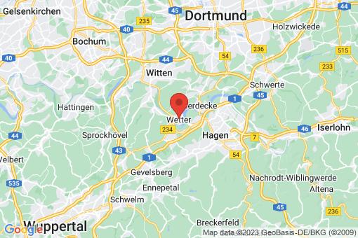 Karte Wetter (Ruhr)