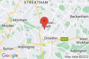 Croydon Health Services Library on the map