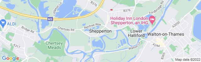 Map Of Shepperton