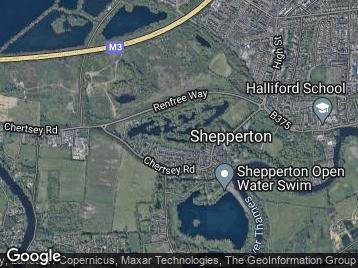Halliford  Mere Trout Fishery
