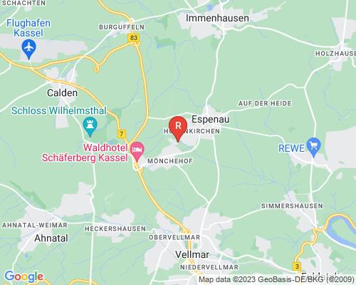 Google Karte von Rohrreinigung Espenau