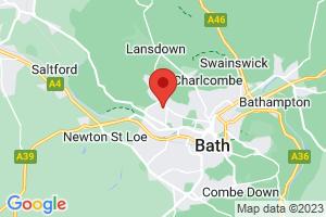 Bath Academy Library - Royal National Hospital for Rheumatic Diseases on the map