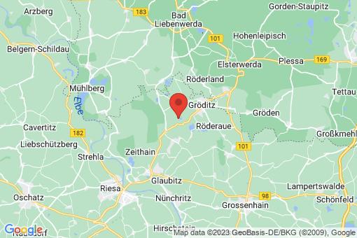 Karte Gröditz
