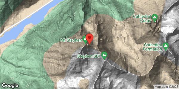 Avalanche control detonations on Mt Stephen, Monday June 7, 2021