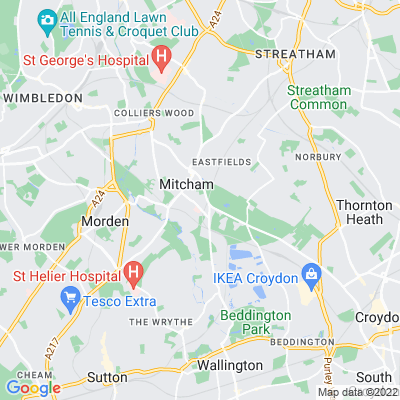 The Canons and Canons Recreation Ground Location
