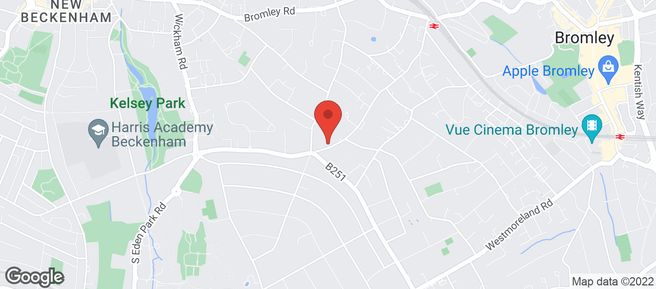 Shortlands Library location and directions