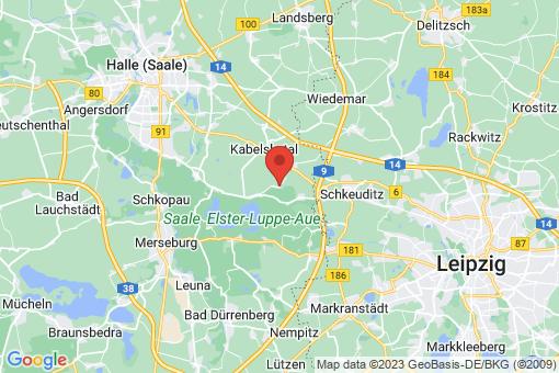 Karte Schkopau Röglitz