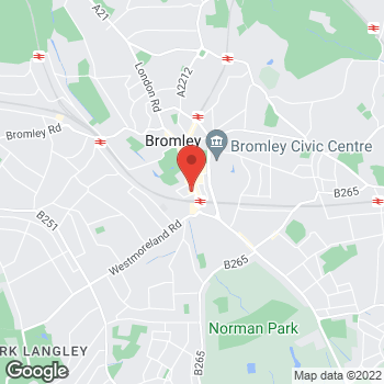 Map of wilko Bromley at Units 2 And 3 (Wilko), Bromley,  BR1 1EA