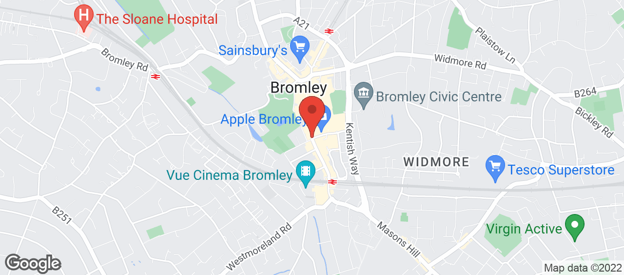 Bromley Historic Collections location and directions