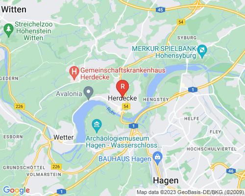 Google Karte von Rohrreinigung Herdecke
