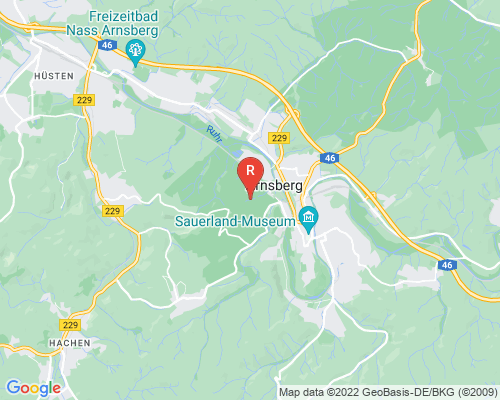 Google Karte von Rohrreinigung Arnsberg