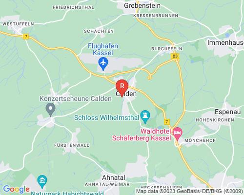 Google Karte von Rohrreinigung Calden