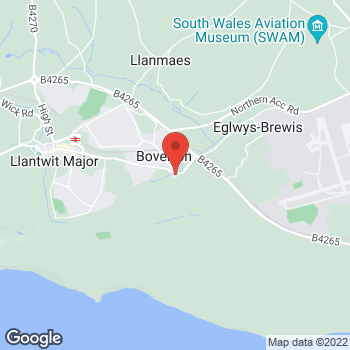 Map of Bargain Booze Select Convenience Boverton Road at Boverton Road, Llantwit Major, South Wales CF61 1UH