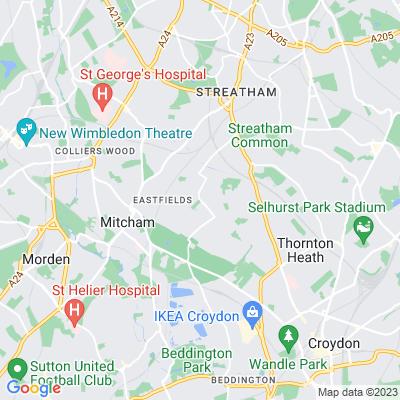 Streatham Park Cemetery and South London Crematorium Location