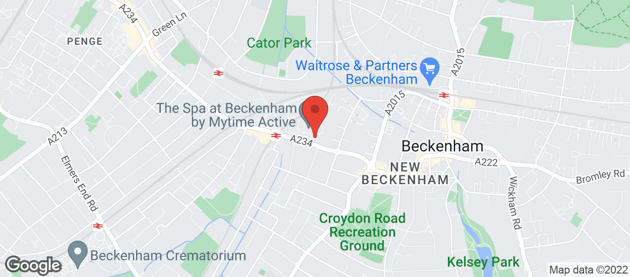 Beckenham Library location and directions