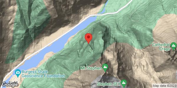 Mt Stephen Ice Climbs