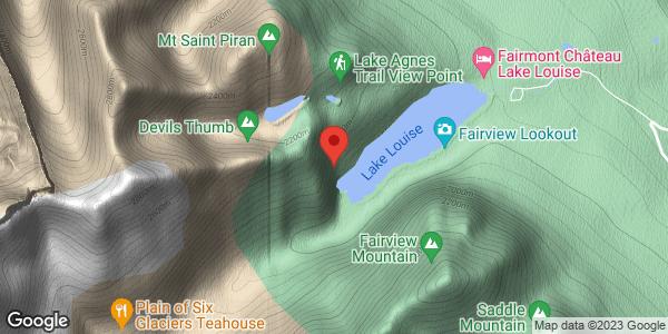 Louise Falls - Ice