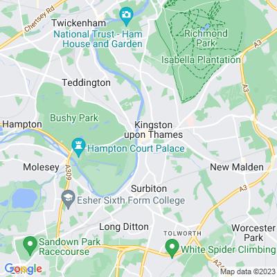 Hogsmill River Park Location