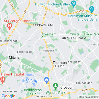 St Helen's Road Triangle Location