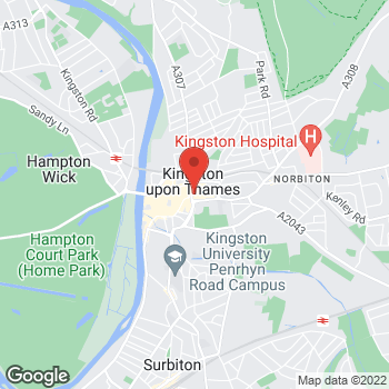 Map of wilko Kingston Upon Thames at 146 - 152 Clarence Street, Kingston Upon Thames,  KT1 1QP