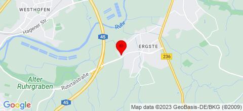 Google Map für Monteur & Privatzimmer Pflüger